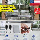 24VDC Swing Gate Opener Hardware Double Auto Electric Kit Remote Control/Motor
