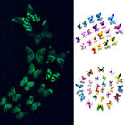 12pcs Luminous Butterfly Design Decal DIY Stickers Art Wall Stickers Home Decor