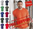 Hanes Mens Nano-T T Shirt Contemporary fit Cotton Blank Plain 4980 up to 3XL image