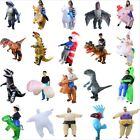 20 Type Inflatable Costume T-Rex Fancy Dress Halloween Blow up Suit Adult Kids for sale  China