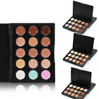 Cosmetic Palette Powder Natural Waterproof Foundation Face Makeup Tool 15 Colors