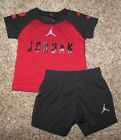 Air Jordan Set Boy's Shirt Shorts Size 12 Months Short Sleeve & Sleeveless