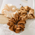 Kyпить Women Satin Silk Hair Tie Elastic Scrunchies Ponytail Holder Hair Rope Rings New на еВаy.соm