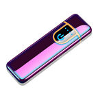 USB Electric Dual Arc Flameless Torch Rechargeable Windproof Cigarette Lighter H
