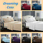 Egyptian Comfort 1800 Count 4 Piece Deep Pocket Bed Sheet Set King Queen Size H2 image