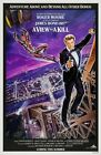 232501 A VIEW TO A KILL 1985 A MOVIE DAN GOUZEE ART WALL PRINT POSTER AU $99.95 AUD on eBay