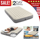Air Bed Mattress Queen Twin Full Size Intex Inflatable Downy Sleeping Camping In