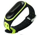For Xiaomi Mi Band 3 4 Strap Replacement Bracelet Silicone Wristband Watch Band
