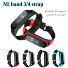 For Xiaomi Mi Band 3 4 Strap Replacement Bracelet Silicone Wristband Watch Band image