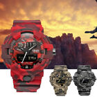SMAEL Outdoor Sports Men Military Camo Multi-function LED Digital Wrist Watch US image