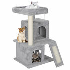 Multiple Sizes Cat Tree Tower Condo Furniture Scratch Post Tree Kitty Play House