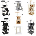 Kyпить Multiple Sizes Cat Tree Tower Condo Furniture Scratch Post Tree Kitty Play House на еВаy.соm