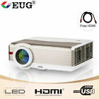 EUG Video LED HD Projector Home Theater Games Party HDMI USB AV Supported 1080p