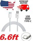 ✅ 6.6FT Long USB C Type-C Cable Fast Charger Type C 3.1 Data Sync Charging Cable