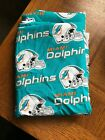 NFL Miami Dolphins Cotton Fabric by the Yard Great for crafts Sewing $8.98 USD on eBay