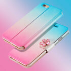 For Apple iPhone 6s iPhone6 Case Bling Diamond Flip Wallet Glitter Leather Cover