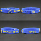 Basketball Star Bracelet Sports Silicone Rubber Wristband Strap adjustable Cuff