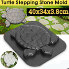 1/4pc Molds Turtle Stepping Stone Concrete Mould ABS Tortoise for garden path US image