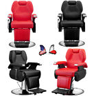 All Purpose Hydraulic Recline Barber Chair Salon Beauty Spa Hair Styling Bed US