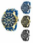Invicta Men's Pro Diver Quartz Chrono 100m Blue Watch 26084 26085 26086 26087 image