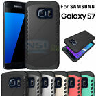 Dual Layer Rugged Hybrid Phone Back Case Cover For Samsung Galaxy S7/ S7 Edge