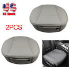 Breathable Car Front Gray Seat Cover PU Leather Seat Protector Cushion 3D Deluxe $40.84 USD on eBay