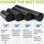 Extra Firm Foam Roller High Density Yoga Muscle Back Pain Trigger Massage Black image