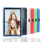 7 inch Android Tablet 4GB Quad Core 4.4 Dual Camera Wifi Bluetooth Pad FAST US