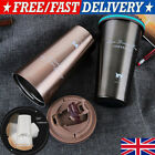 500ML Stainless Steel Leakproof Insulated Thermal Travel Coffee Mug Cup Flask WO