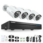 SANNCE 8CH 5MP NVR 1080P POE Security Camera System Audio Recording IP Network