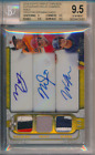 2014 Topps Triple Threads Gold /9 Mike Trout Manny Machado BGS 9.5 9 Auto POP 1