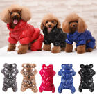 1x Dog Sweaters Autumn Winter Solid Color Thick Velvet Shirt Clothes Apparel New