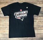 Mens New England Patriots 2018 Conference Champions T-Shirt Navy Size L, XL $3.99 USD on eBay