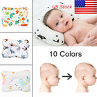 Baby Infant Newborn Pillow Flat Head Sleeping Support Prevent Soft Breathable US
