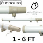 Tubular Heater with Built In Stat Thermostat 1/2/3/4/5/6FT Sunhouse/Dimplex Tube
