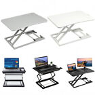Ergonomic Height Adjustable Standing Desk Laptop Tabletop Desk Riser Workstation