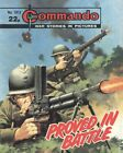 Commando War Stories in Pictures 1913 VG/FN 5.0 1985 Stock Image Low Grade image