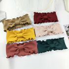Elegant Wave Lace Knitted Headband Elastic Knotted Hair Bands Hair Accessories