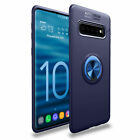 Back Case for Samsung Galaxy S8 S9 S10 Plus Note 10 Magnetic Ring Holder Cover
