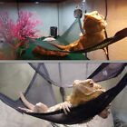 Breathable Mesh Reptile Hammock for Large  Small Bearded Dragons 2 Pack