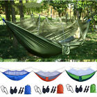 Outdoor Camping Mosquito Net Hammock Tent Nylon Double Hanging Bed Travel Hike