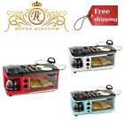 3in1 Versatile Breakfast Station Coffee Maker Griddle Toaster Oven Family Size