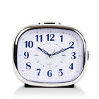 Silent Sweep Bedside Large Display Desk Alarm Clock With Night Light Non Ticking