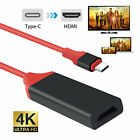 USB-C Type C to HDMI HDTV 4K Cable Adapter For Samsung S10 S9 S8 Note 9 MacBook