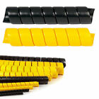 Heavy Duty HDPE Spiral Wrap 1 2 5 Size Options Protect Hoses