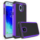 For Samsung Galaxy J3 2018 Star Orbit Achieve SMJ337 Case+Glass Screen Protector