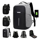 15-inch Anti-theft Waterproof Backpack External Usb Charging Port Laptop Bag New