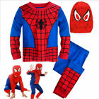 Kyпить US Ship Kids Boys Spiderman Cosplay Costume Superhero Fancy Outfit Dress Clothes на еВаy.соm