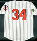 Kirby Puckett Twins Jersey Throwback with 1991 World Series Patch NEW M L XL XXL on Ebay