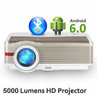 HD Android WiFi Blue-tooth Projector Movie Wireless Share Screen For Smarphone
